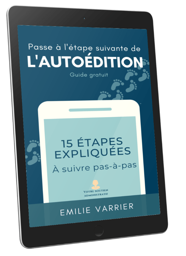Image ebook du guide de l'Autoédition pas-à-pas